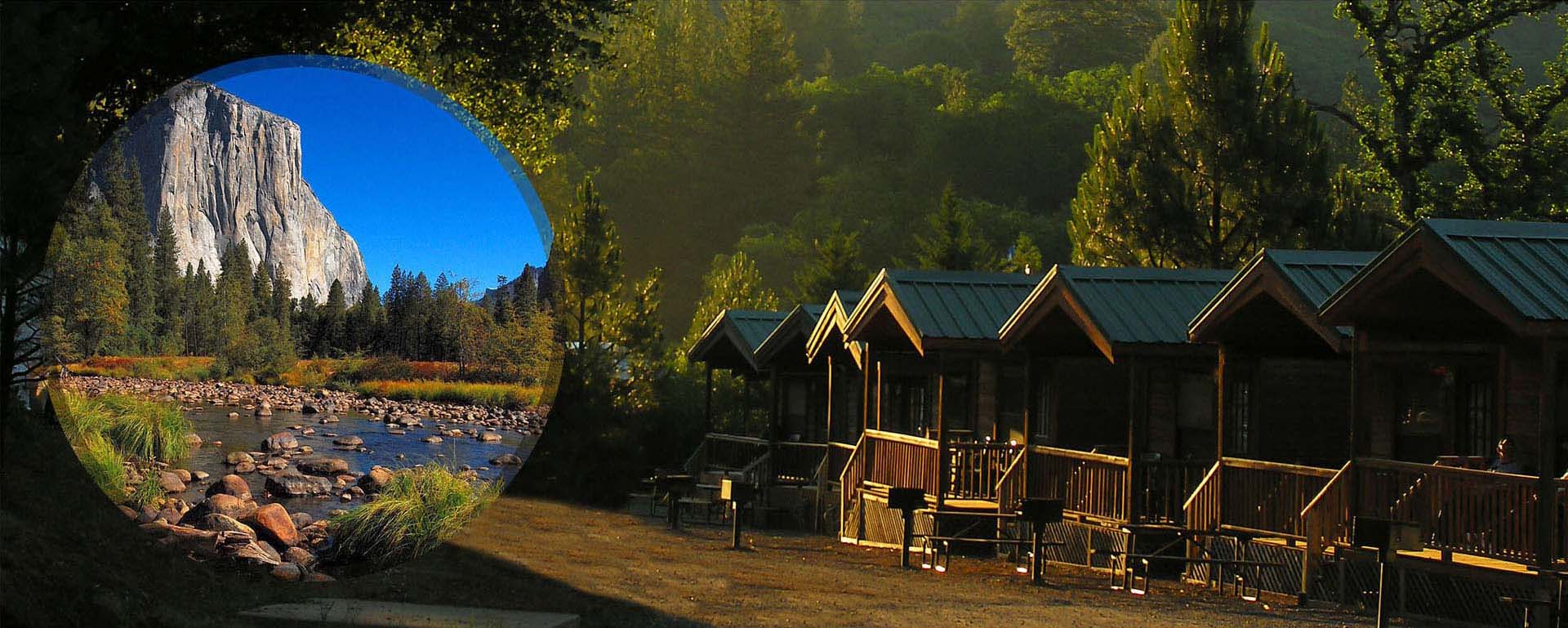 Yosemite National Park Campground Cabins Rv Sites