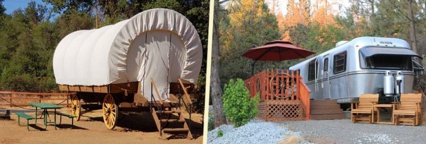 Glamping at Yosemite Pines
